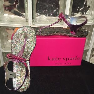 NEW NEVER WORN Kate Spade jelly sandals